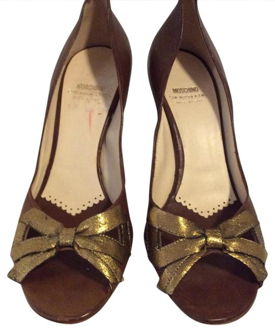 Item - Brown Cheap and Chic Open To Pumps Formal Shoes Size US 9.5 Regular (M, B)