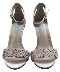 Betsey Johnson Wedding Prom Pump Champagne Formal