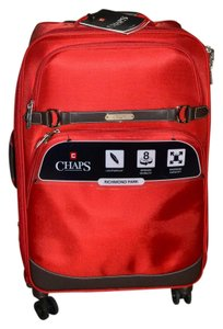 Chaps Spinner Richmond Hill Lightweight Luggage Carry On Lake House RED Travel Bag