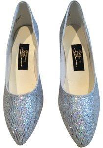 Fancy Shoes Pumps Dance Performance Performance Pumps Dance Dance Pumps Performance Dance Dance Pumps Wedding Wedding Iridescent Silver Formal