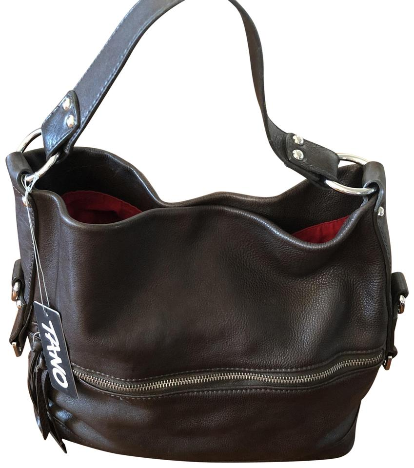 35dd24d38d07 Tano Handbag Espresso Leather Hobo Bag - Tradesy