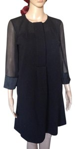 Diane von Furstenberg Dvf Wool Silk Shift Dress