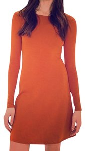 American Apparel short dress Orange on Tradesy