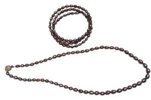 Other Black Pearl jewelry set
