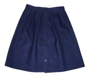 J.Crew Wool A-line Pleated Mini Skirt