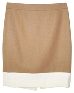 J.Crew Color-blocking Wool Pencil Skirt