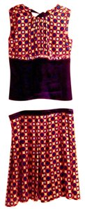 Tory Burch Skirt navy red