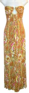 Gold Maxi Dress by Sky