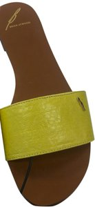 B Brian Atwood Yellow Sandals