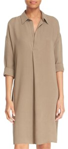 Vince Silk Shirt Longsleeve Longsleeve Dress