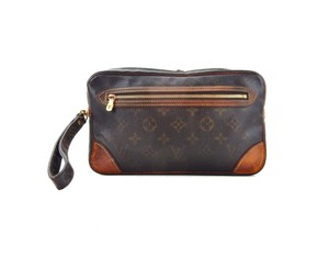 Louis Vuitton Marly Dragonne 25 Monogram Canvas Makeup Travel Toiletry Bag