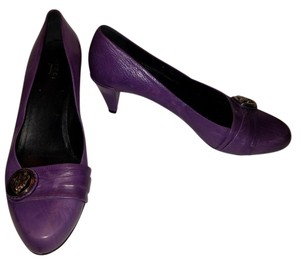 Gucci Hysteria Crest Chanel Purple Pumps