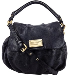 Marc by Marc Jacobs Satchel Pebbled Leather Flap Cross Body Bag