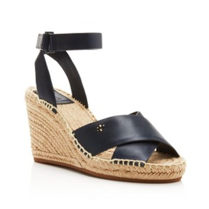 Tory Burch navy Wedges
