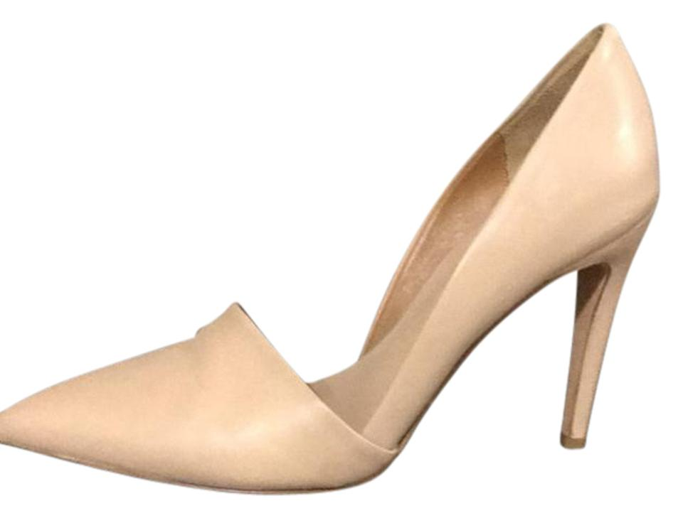 WOMENS Strong Vince Nude Leather Pumps Strong WOMENS value 19bcd4