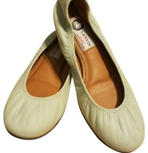 Lanvin Light mint green Flats