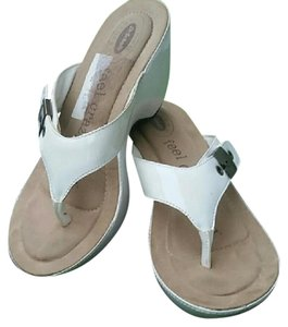 Dr. Scholl's White Sandals
