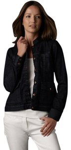 Eileen Fisher Washed indigo Womens Jean Jacket