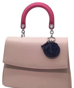 Dior Satchel in pink, fuchsia, navy