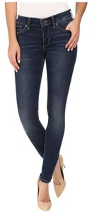 Lucky Brand Skinny Denim Stretchy Casual Distressed Skinny Jeans-Distressed
