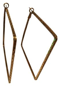Mad Love Gold Square Hoops