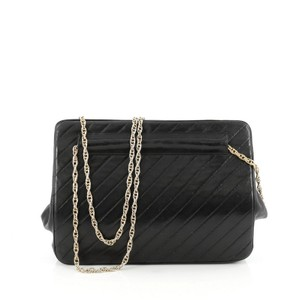 Chanel Vintage Frame Leather Shoulder Bag