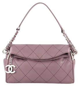 Chanel Hobo Leather Shoulder Bag