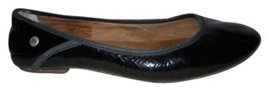 UGG Australia Leather black Flats