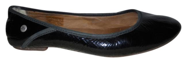 UGG Australia Black Patent Leather Flats Size US 7.5 Regular (M, B) UGG Australia Black Patent Leather Flats Size US 7.5 Regular (M, B) Image 1