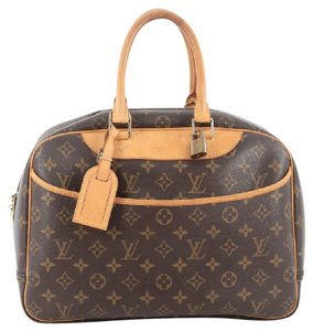Louis Vuitton Canvas Deauville Satchel