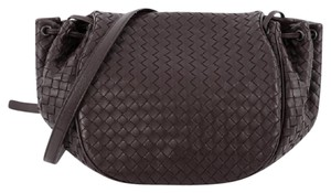 Bottega Veneta Nappa Messenger Shoulder Bag