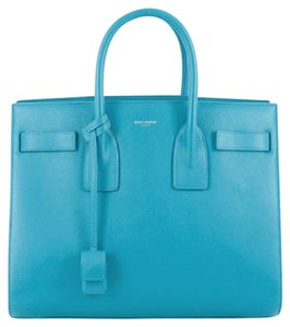 Saint Laurent Sac De Jour Leather Tote