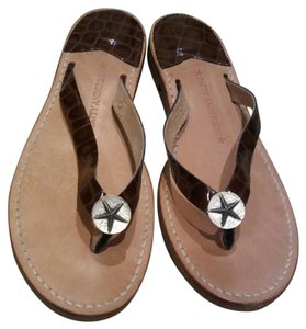 Patty Anderson Brown Sandals