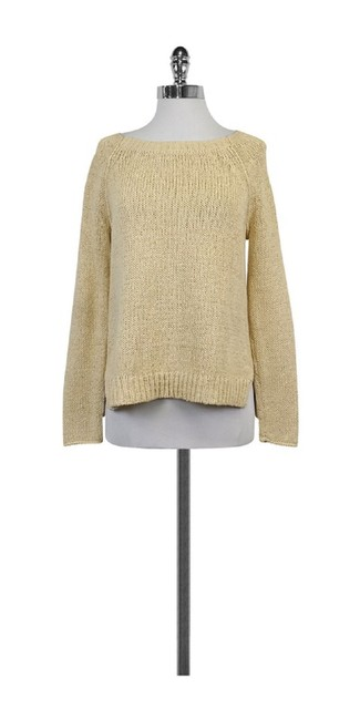 Vince Chunky Knit Cotton Blend Sweater