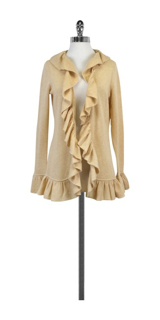 Minnie Rose Cashmere Front Sweater