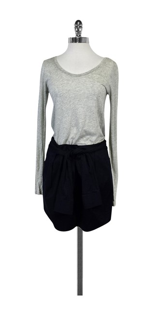 Preload https://img-static.tradesy.com/item/21164401/theory-grey-and-navy-color-block-short-casual-dress-size-4-s-0-0-650-650.jpg