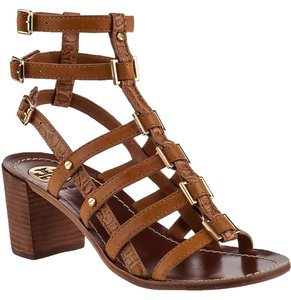 Tory Burch Strappy Gladiator Tan Sandals
