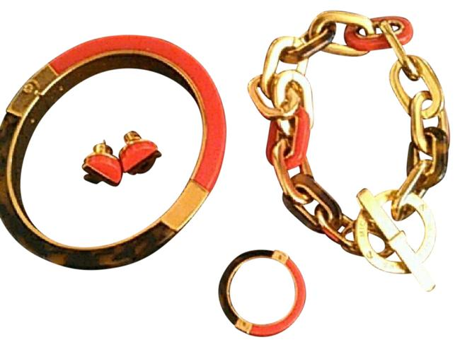 Item - Red and Tortoise Mk Limited Edition Bracelet