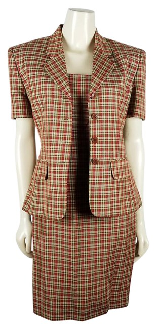 Preload https://img-static.tradesy.com/item/21164460/rena-rowan-multi-colored-for-saville-2-piece-plaid-short-workoffice-dress-size-8-m-0-1-650-650.jpg