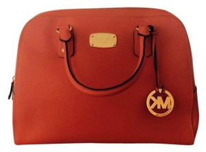 Michael Kors Satchel in Dark Orange