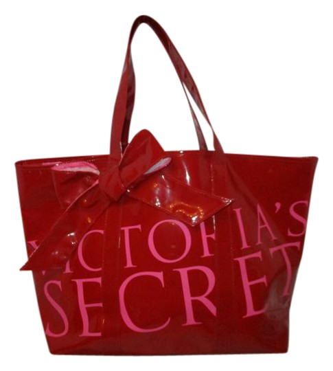 Preload https://img-static.tradesy.com/item/21164543/victoria-s-secret-faux-patent-big-bow-red-and-pink-man-made-tote-0-1-540-540.jpg