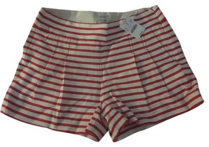 J.Crew Dress Shorts Red and white stripes