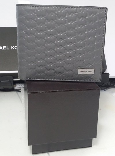 Michael Kors MICHAEL KORS MEN'S JET SET EMBOSSED LEATHER BILFOLD WALLET Gift Box