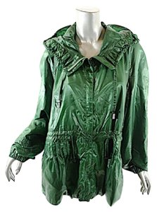 Creenstone Emerald Water Repellent Anorak Rain Gear Green Jacket