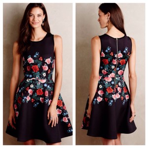 Erin Fetherston Rose Garland Floral Dress