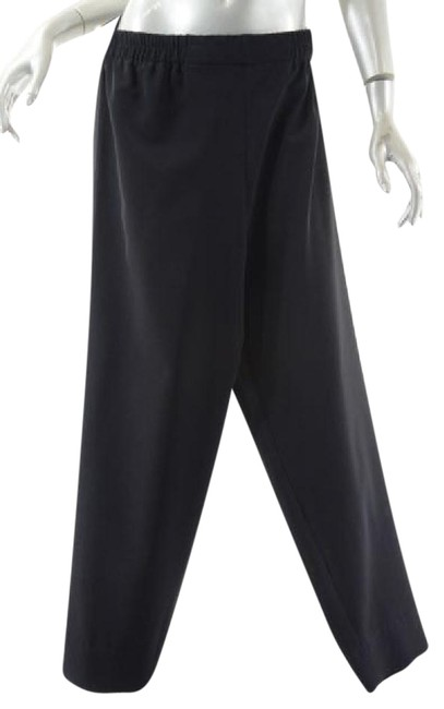 Preload https://img-static.tradesy.com/item/21164725/black-wrinkle-free-polyester-po-wnarrow-ankle-relaxed-fit-pants-size-8-m-29-30-0-1-650-650.jpg