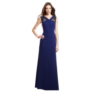 BCBGMAXAZRIA Evans Lace-inset Formal Dress