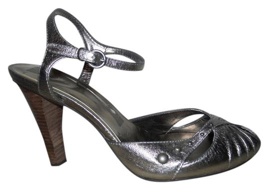 Preload https://item4.tradesy.com/images/nine-west-pewter-studded-leather-sandals-size-us-8-regular-m-b-2116478-0-0.jpg?width=440&height=440
