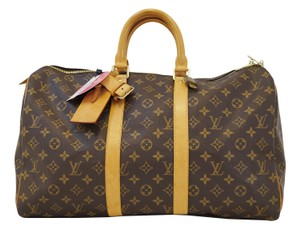 Louis Vuitton Lv Keepall 45 Boston Travel Bag