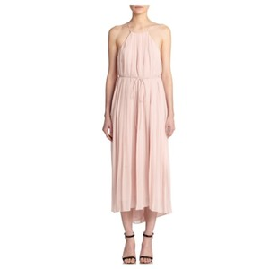 Tibi Simone Silk Pleated Dress